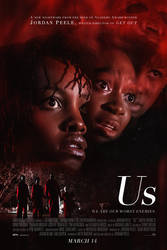 Us (2019) - Alternative Poster by NetoRibeiro89