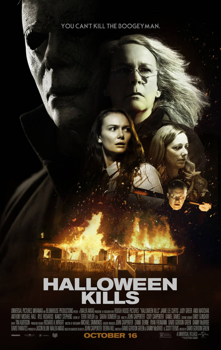 Halloween 2020 Alternate Halloween Kills (2020)   Alternate Poster by NetoRibeiro89 on