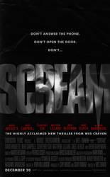 Scream (1996) - Alternative Unused Poster