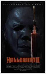 Halloween II (1981) - Alternative Poster