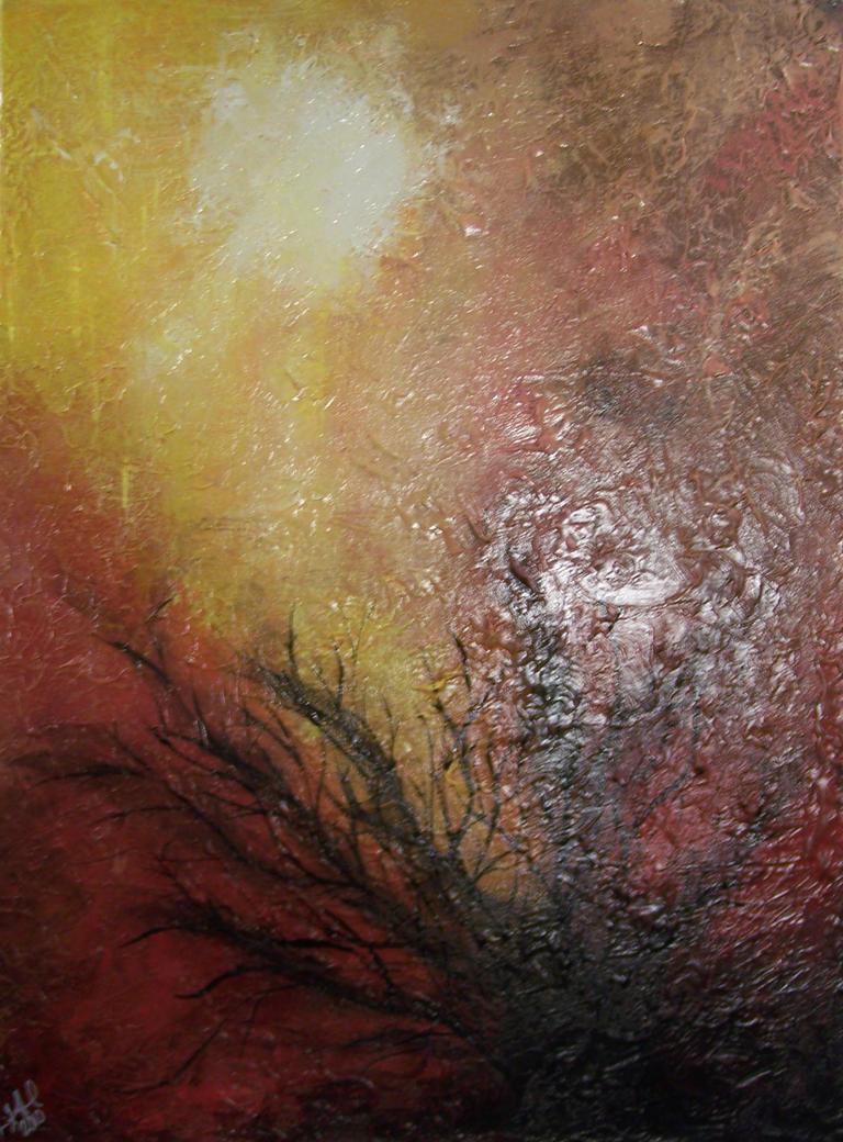 Sky on Fire by moose6182