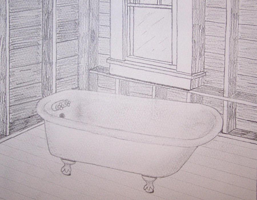 Bathtub Perspective by moose6182