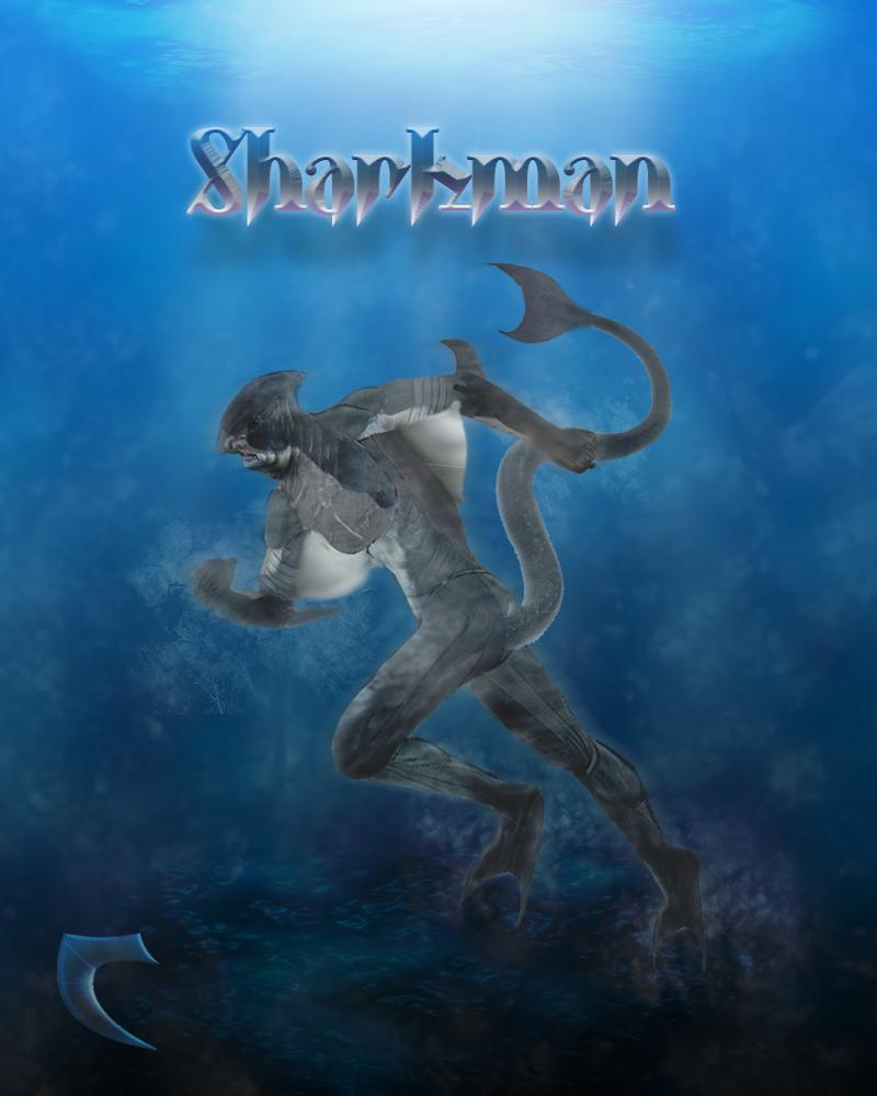 Sharkman art - photo#23