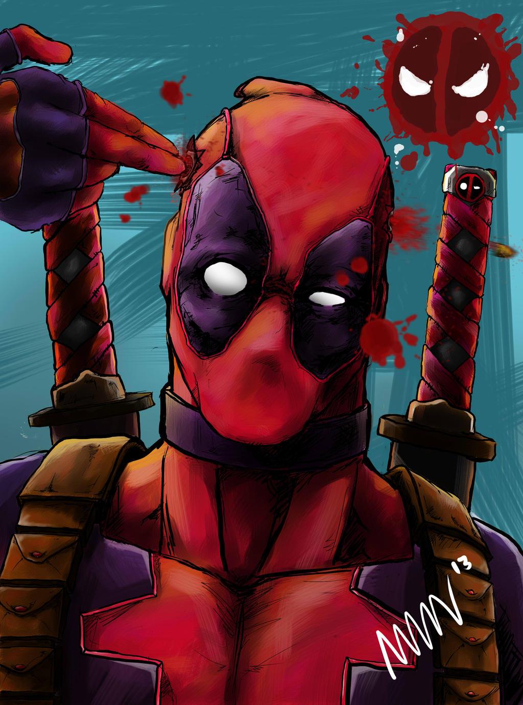 Deadpool by manungguljar