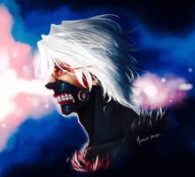 Kaneki (Tokyo Ghoul) by Micaela-Frojdh