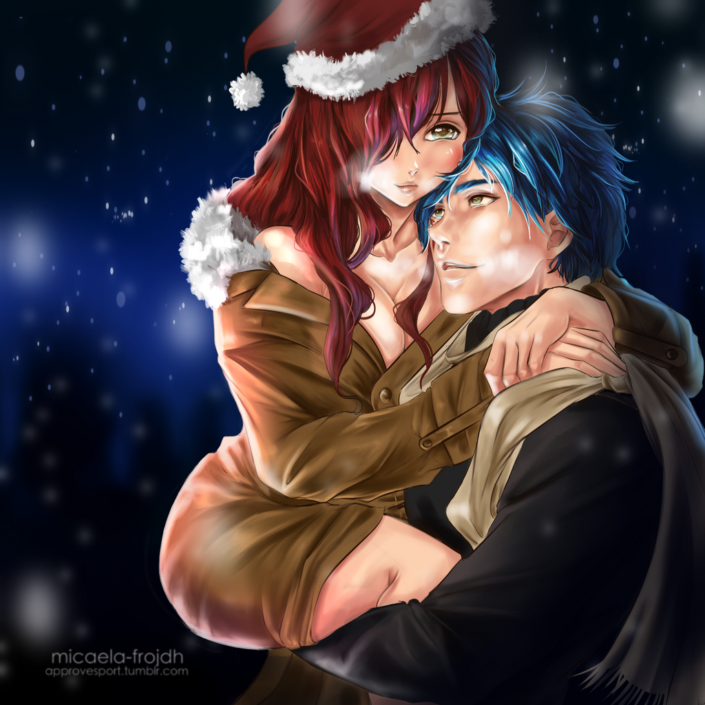 jellal x erza christmas special by micaelafrojdh on