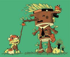 me and mr. wood by Bisparulz