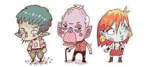some dudes by Bisparulz