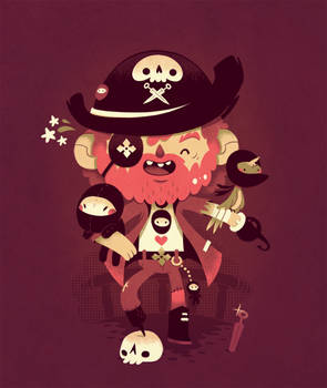 unusual pirate