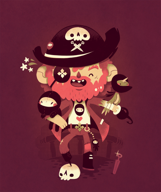 unusual pirate by Bisparulz