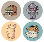 BUTTON CHARACTERS