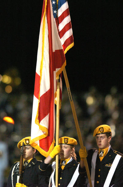 Presenting the Colors. by tanro
