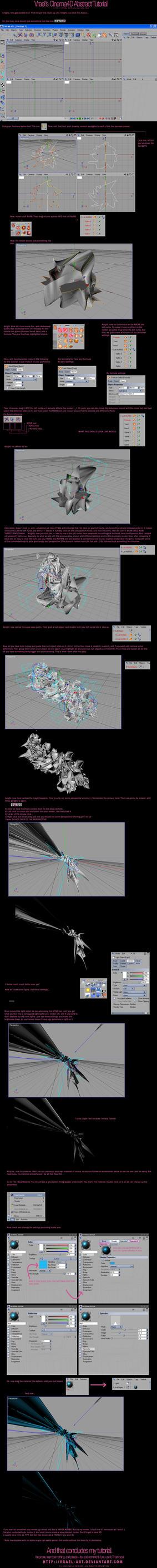 Vrael's C4D Abstract Tutorial by vrael-art