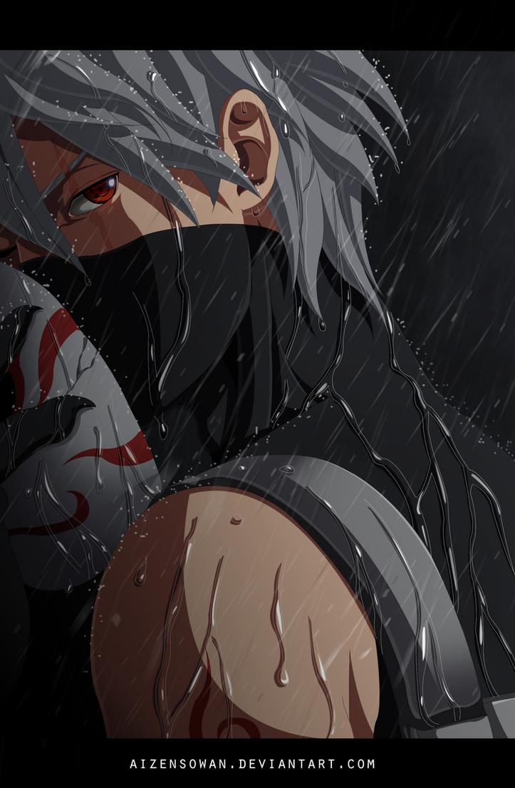 Naruto - Hatake Kakashi by AizenSowan