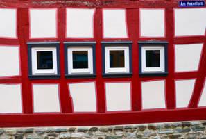 Fassade in Idstein