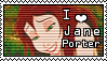 Jane Porter Stamp by VictoriaCrow