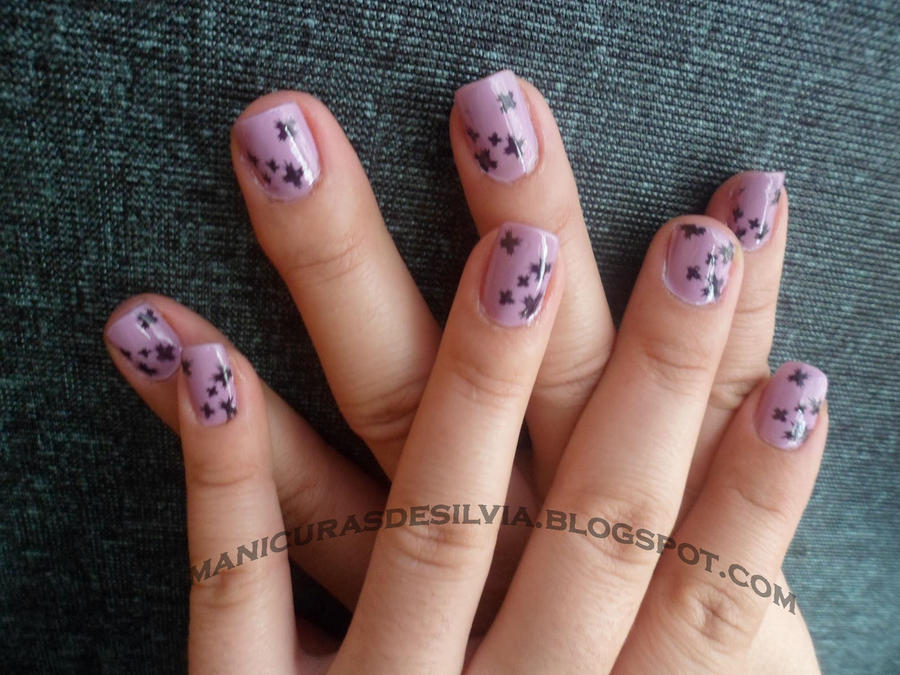 Nails with spots by kotobayaoi