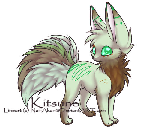 Kitsune 000 5 CLOSED by hey-adopts