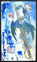 Flute Dragon Colored
