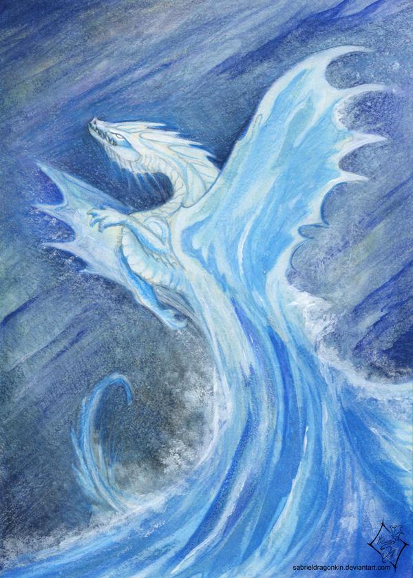 Elemental Dragon: Water by SabrielDragonkin