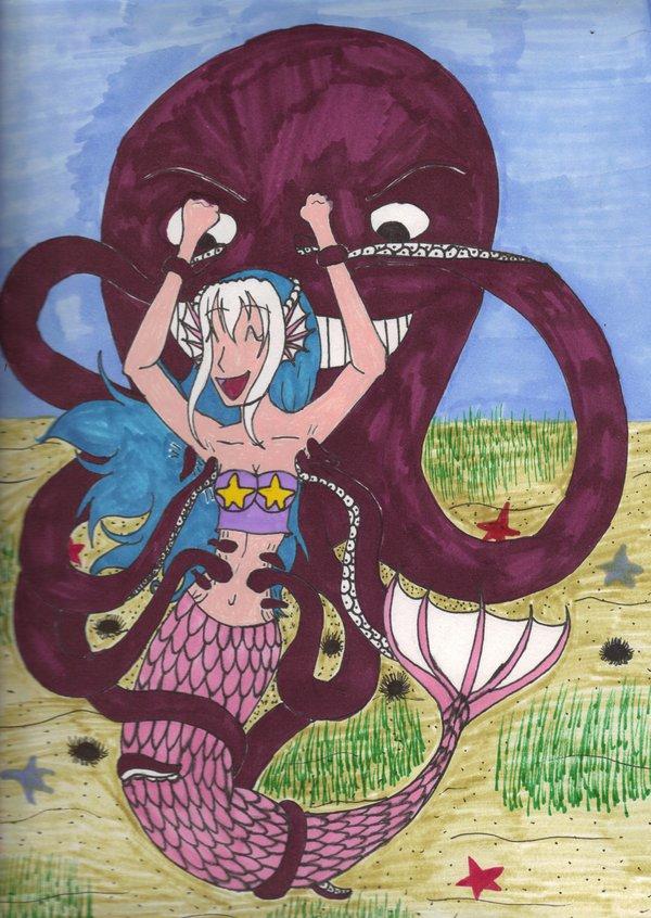 Ticklish Mermaid by TicklishFairy