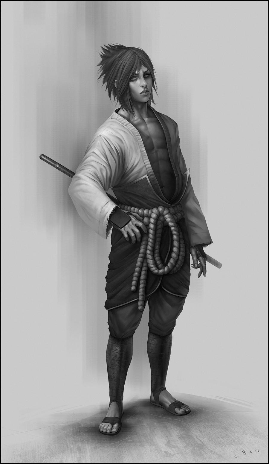 Sasuke Uchiha by chris-anyma