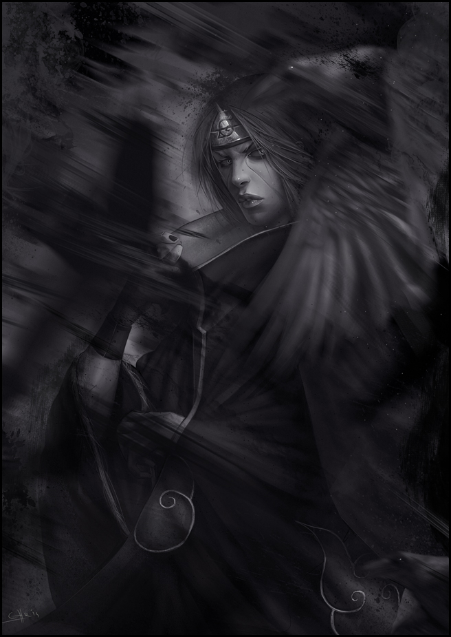 Itachi Spirit by chris-anyma