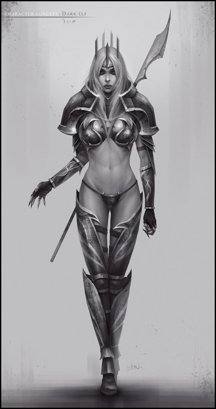 Dark Elf by chris-anyma
