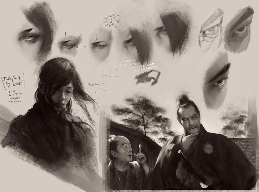 Studies by chris-anyma