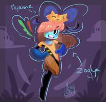 La naissance de Zaglya et Myame