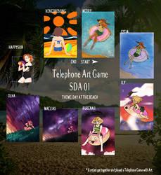 SDA: Telephone Art Game 01