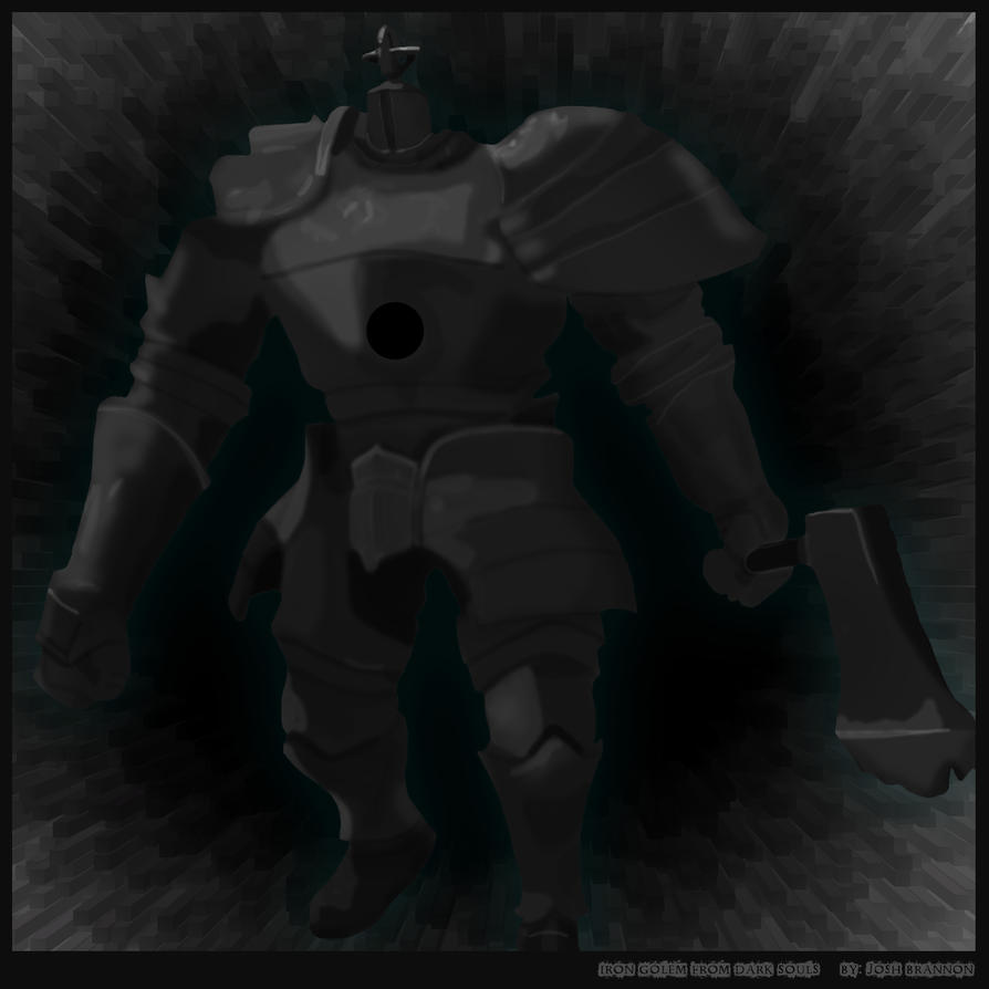 Iron Golem by JoshBrannon
