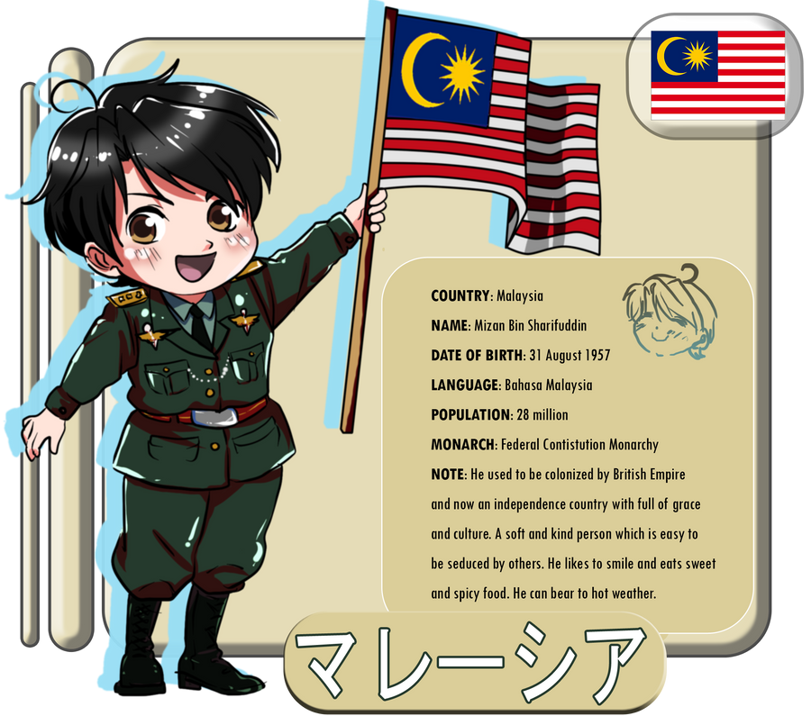 Manga Online Malaysia: Hetalia: MALAYSIA By StillDollSawaii On DeviantArt
