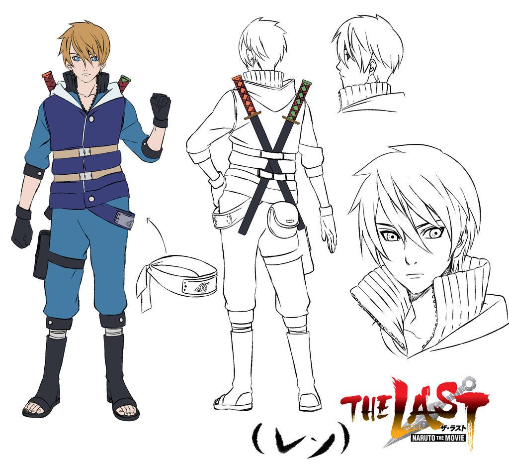 Naruto The Last Character Design Color : The last ren by stilldollsawaii on deviantart
