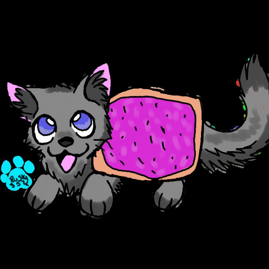 nyan cat chibi by P0CKYY