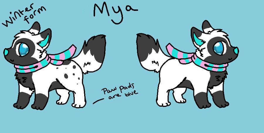 mya winter reference by P0CKYY