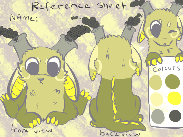 Reference Sheet Comish_ Ausieotterpie by P0CKYY