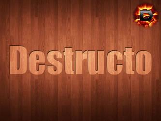 Destructo Wood by D3struct0