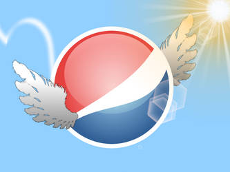 Flying Pepsi by D3struct0