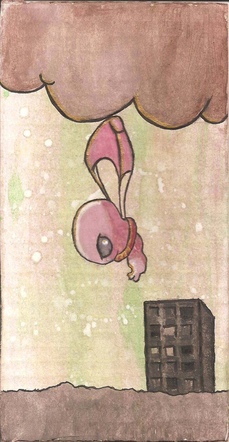 Floating Fetus by AnimeElf7