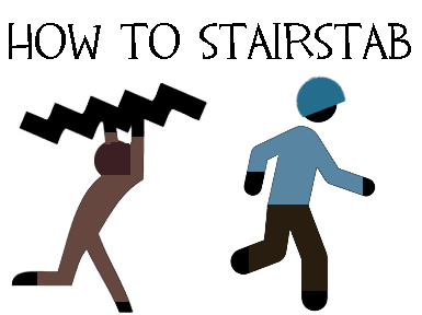 Stair Stabbing 101 by Songbreeze741