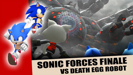 Sonic Forces - VS Death Egg Robot thumbnail art by Songbreeze741