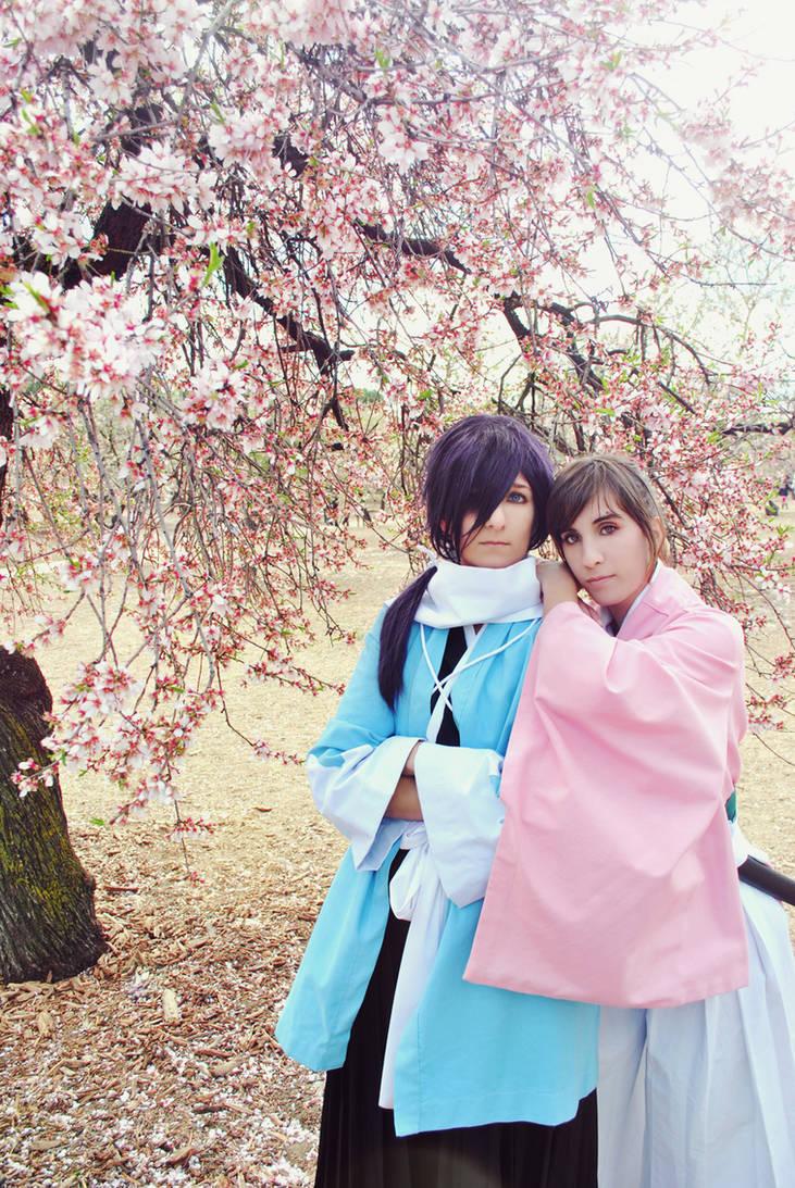Chizuru x Saito - Cherry Blossoms