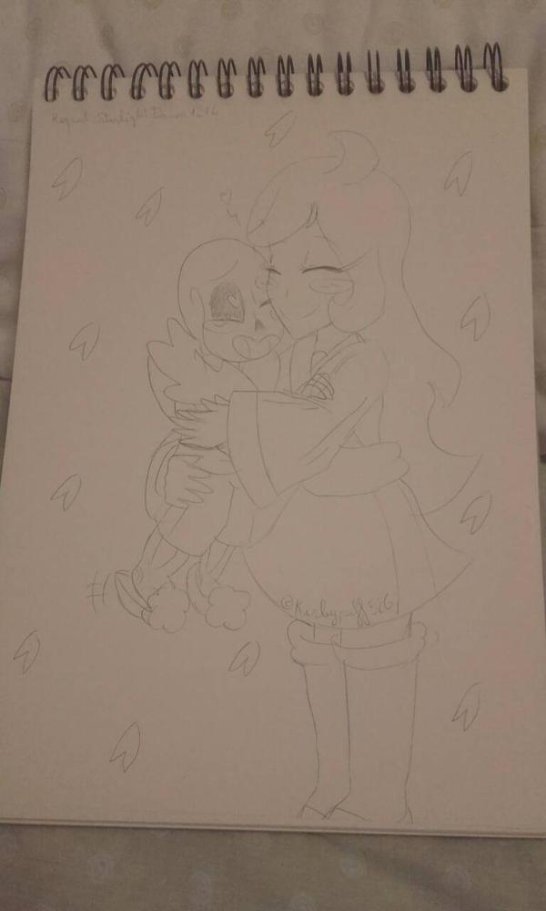 Cute hug by Kirbypuff326