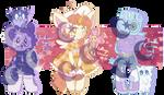 (SET PRICE) - Random Adopts 40# (OPEN) by Kirbypuff326