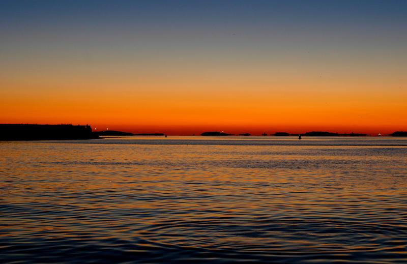 Boston Harbor Sunrise by ManicMechE