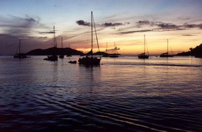 Caribbean Sunset by ManicMechE