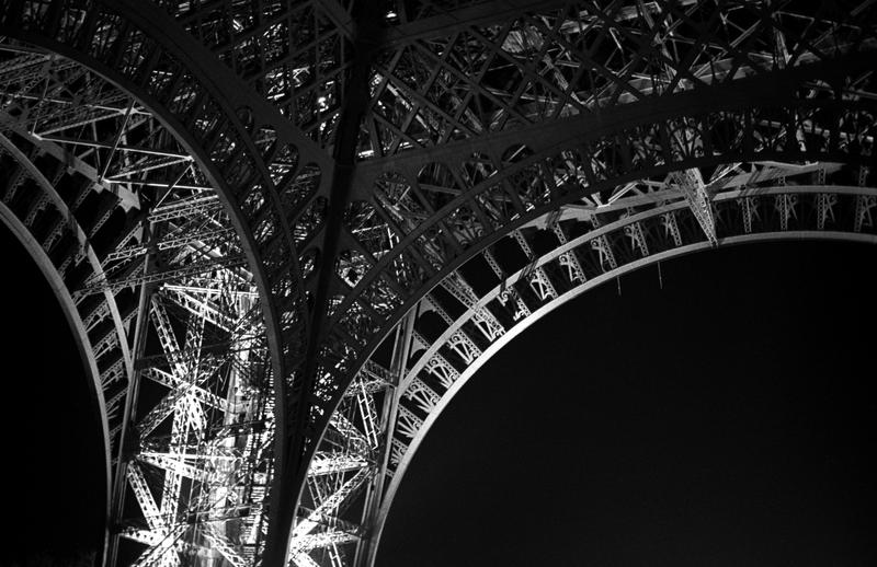 Eiffel Tower at night 2 by ManicMechE