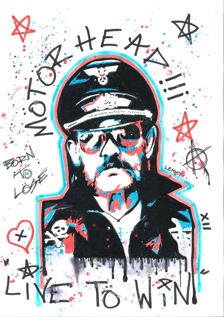 Lemmy Motorhead by Evlisking