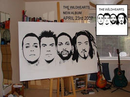 The wildhearts album cover by Evlisking